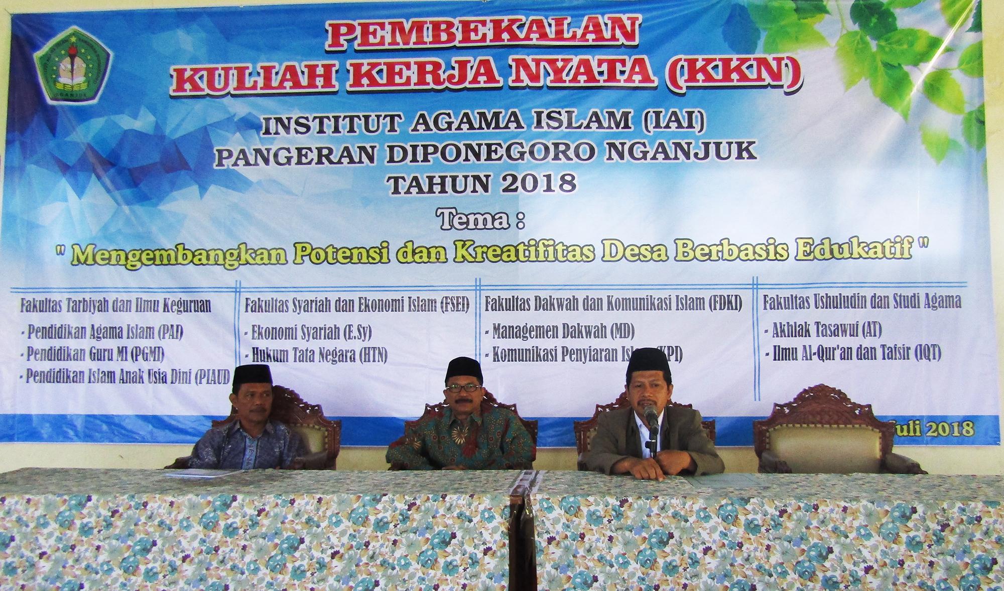 IAI Pangeran Diponegoro Nganjuk Selenggarakan KKN 2018
