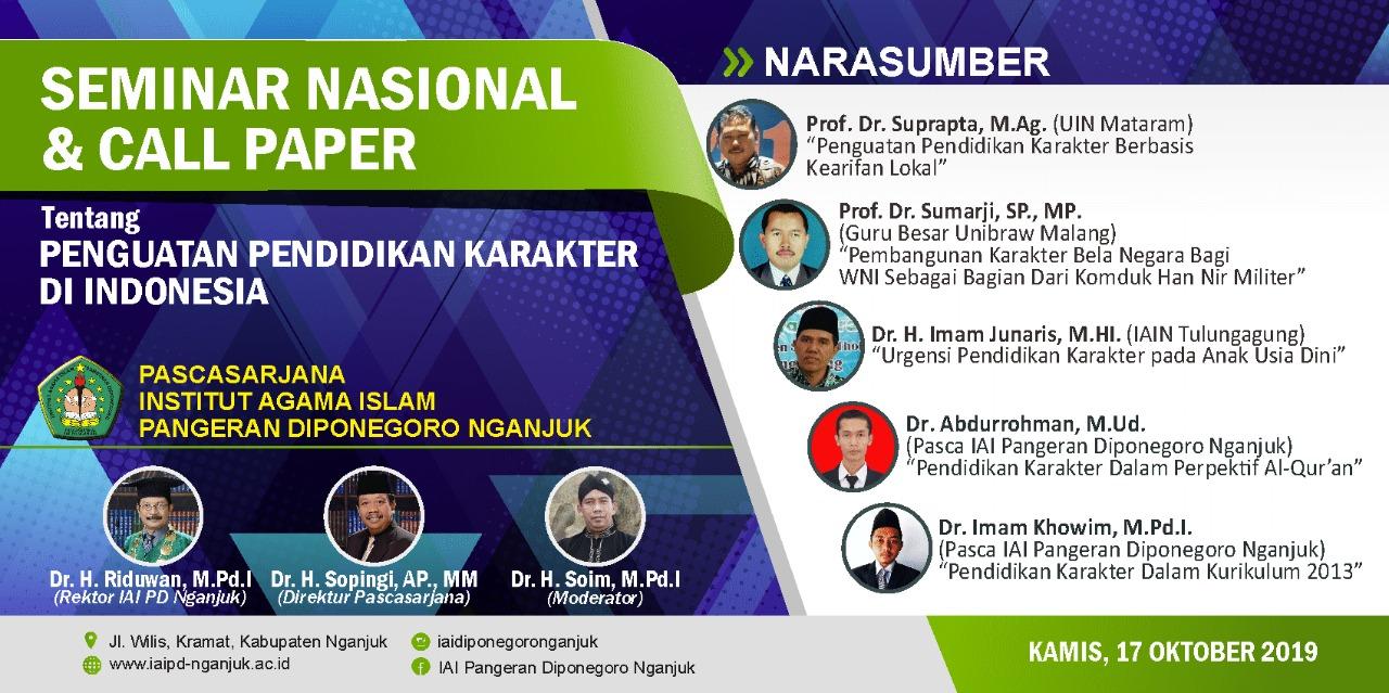 Seminar Nasional Pendidikan Karakter