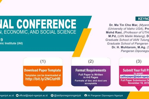 International Conference on Language, Education, Economic, And Social Science-Call For Paper