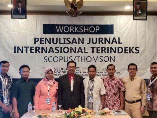 Workshop Penulisan Jurnal Internasional Terindeks Scopus atau Thomson