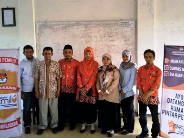 KPU Nganjuk Sosialisasi Rumah Pintar Pemilu di Program Studi HTN
