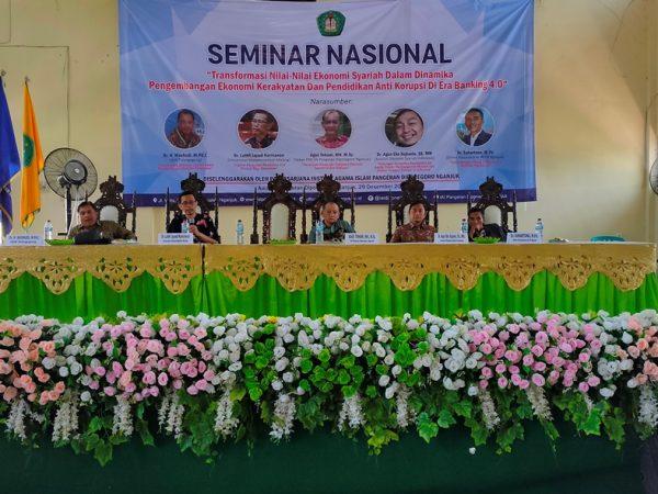 Bekali Pendidikan Anti Korupsi, IAI PD Nganjuk Datangkan Capim KPK Dr Luthfi Jayadi Kurniawan