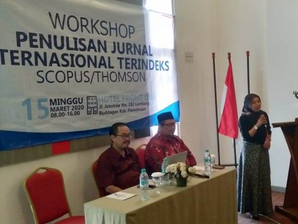 Pentingnya Jurnal Terindeks Scopus, Dosen IAI PD Ikuti Workshop KUBUS