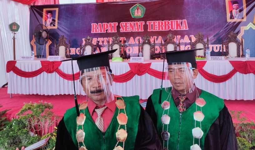 Pandemi, Wisuda IAI Pangeran Diponegoro Nganjuk Digelar Drive Thru